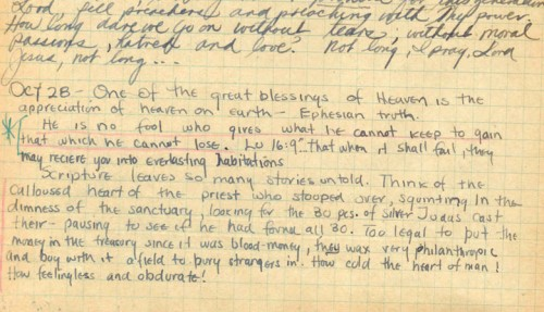 jim elliot journal