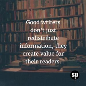 Value Creation Reading
