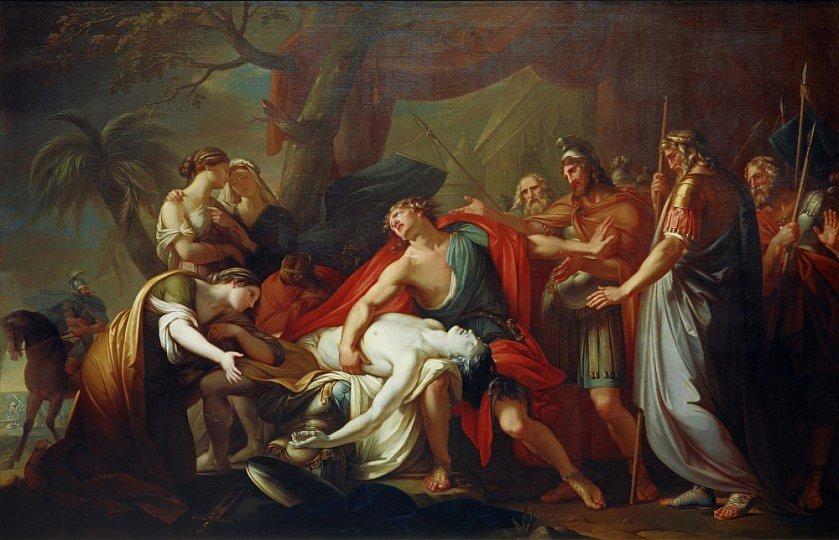 Mourning Patroklos